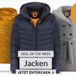 15% Gutschein auf Jacken ⛄ z.B. s.Oliver, Wellensteyn, Tom Tailor, usw.