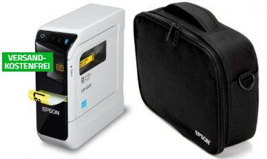 Epson LabelWorks LW 600P Etikettendrucker  Epson Tragetasche Bundle