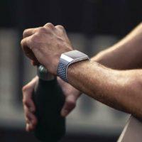 Fitbit Ionic Adidas Health Fitness Smartwatch FB503 Sport Uhr Alu Gehaeuse NEU