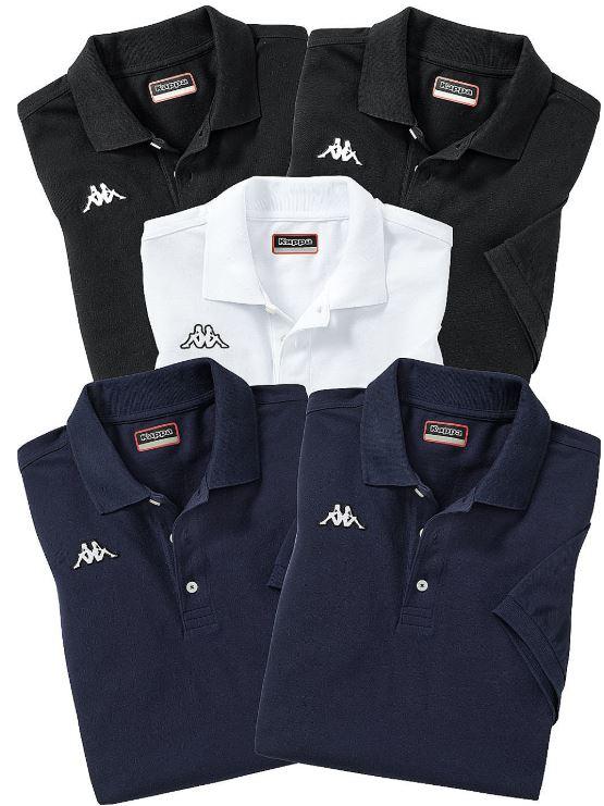 Kappa 5er Pack Poloshirts
