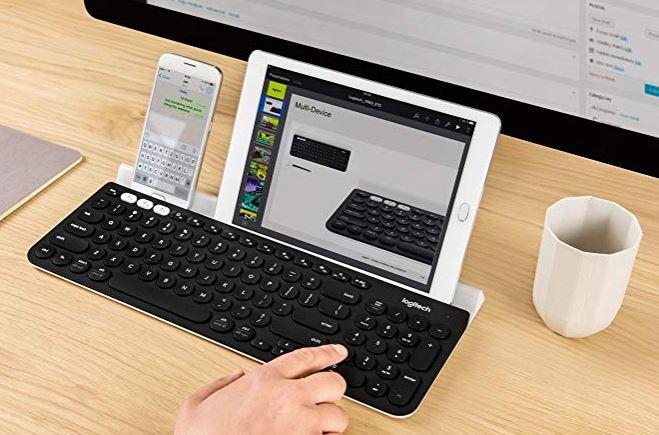 LogitechK780Multi DeviceWirelessKeyboard