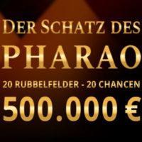 Rubbellos Der Schatz des Pharao