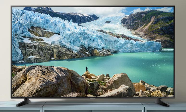 Samsung RU7099 108 cm 43 Zoll LED Fernseher Ultra HD HDR Triple Tuner Smart TV Modelljahr 2019 Amazon.de Heimkino T 2019 10 15 13 14