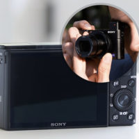 Sensor Kamera mit Viewfinder  Cyber Shot DSC RX100M3  Sony DE 2020 01 13 15 21