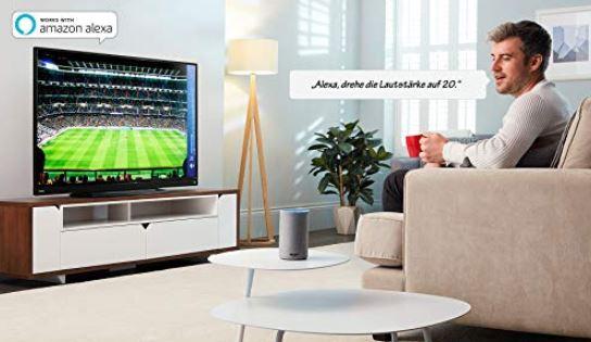 Toshiba 49V5863DA 49 Zoll Ultra HD 4K LED Fernseher HDR Smart TV WLAN UHD