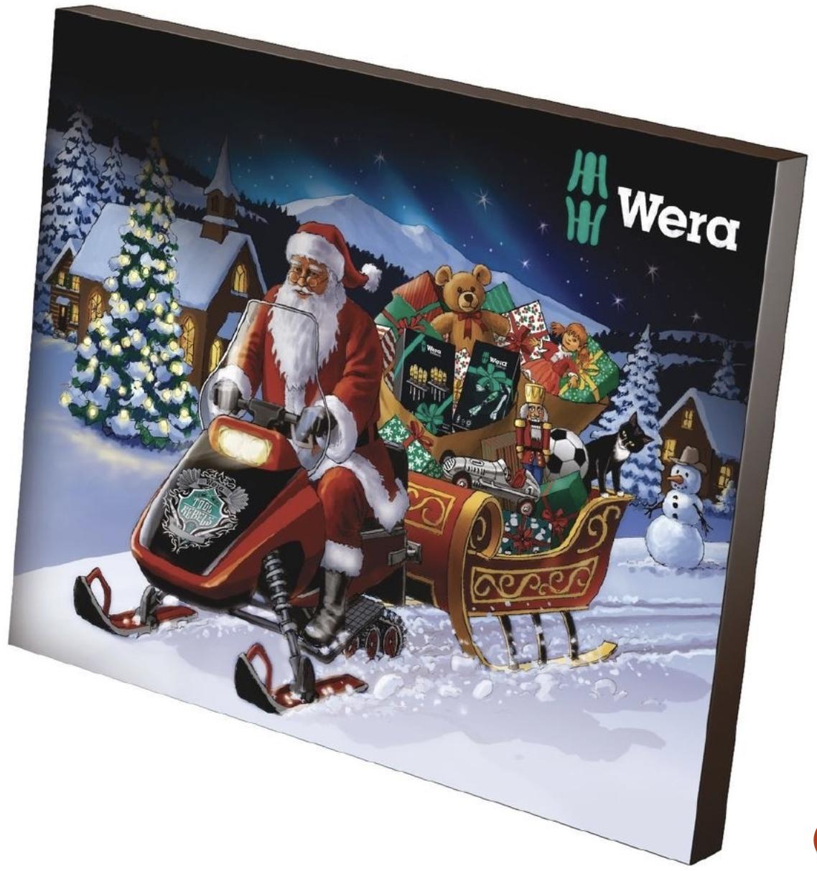 Wera Adventskalender 2019 Kalender Werkzeugadventskalender 05136600001 Weihnachten Rakuten 2019 10 12 16 36