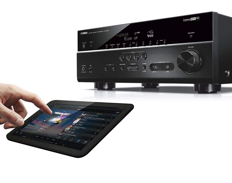 Yamaha RX V683 MusicCast AV Receiver schwarz AmazonSmile Heimkino TV Video 2019 10 15 14 25