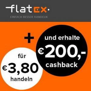 Tipp 🤑 200€ Cashback für das kostenlose flatex Depot (mind. 20 Trades)