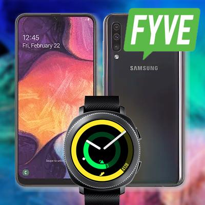 galaxy a50 fyve vodafone titelbild