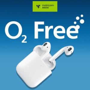 o2 free M mit 10GB LTE für 14,99€ mtl. + Prämie, z.B. Apple / Samsung In-Ears