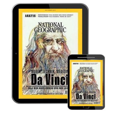 [Last Call] 🌏 12 Monate ''National Geographic'' als E-Paper für 49,96€ + 50€ Prämie