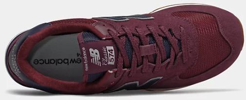 574 Super Core weinrot Sneaker