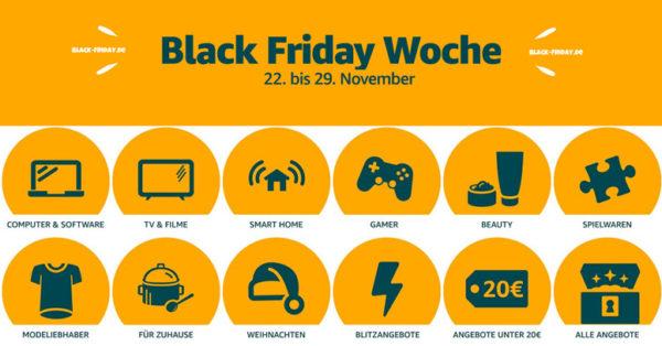 Amazon Black Friday Woche 2019