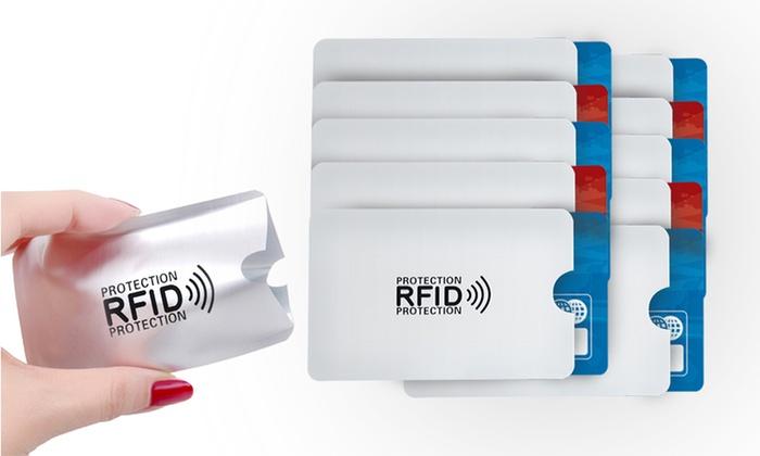 Anti RFID Etuis