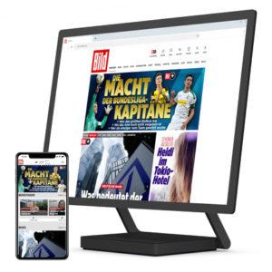 """[TOP] Bis zu 12 Monate """"BILDplus"""" für 2,99€ mtl. (exklusive Inhalte + Apps)"""