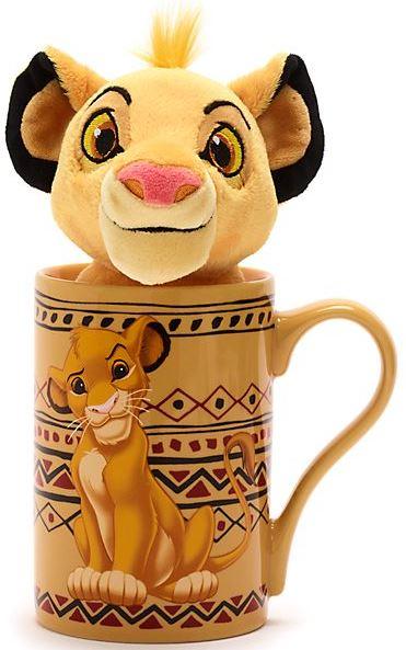 DisneyStore Simba SetausBecherundBeanBagStofftiermini