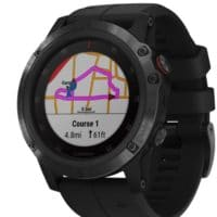 Garmin Herren Smartwatch fenix 5X Plus Sapphire Watch