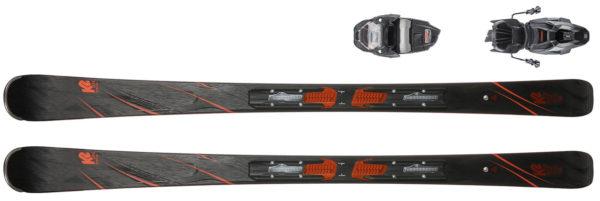 K2 SECRET LUV ER3 10 COMPACT QUIKCLIK All Mountain Ski Damen schwarz rot im Online Shop von SportScheck kaufen 2019 11 27 18 34