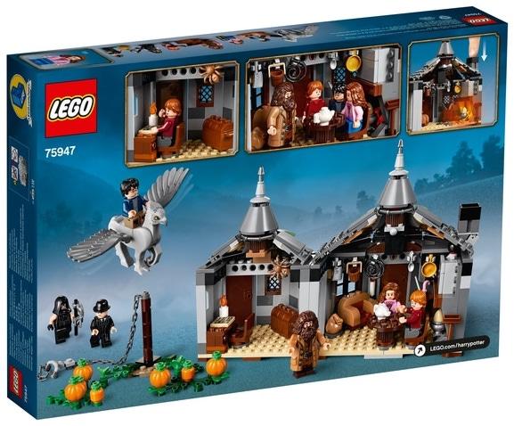 LEGOHarryPotter 75947HagridsHutte