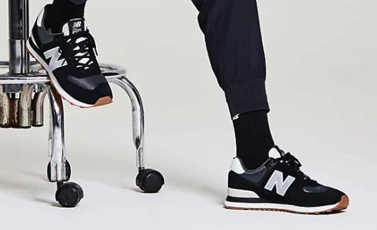 New Balance 574 Super Core weiss schwarz