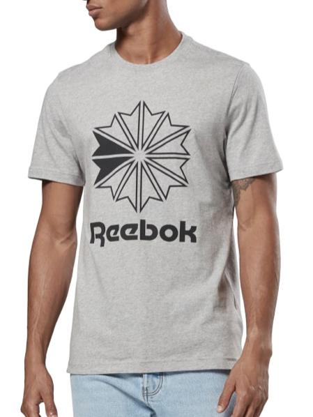 Reebok Classics Big Logo T Shirt   Grau  Reebok Deutschland 2019 12 04 17 45