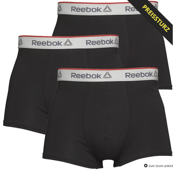 Reebok Herren Ovett Drei Pack Boxershorts Schwarz 2019 11 27 17 21
