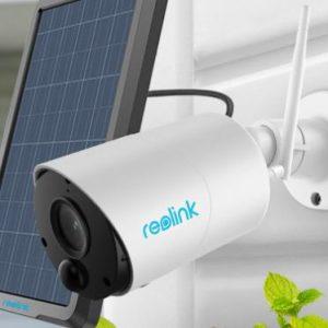 Reolink Argus Eco inkl. Solar-Panel 👀🎥 kabellose WLAN Outdoor Kamera