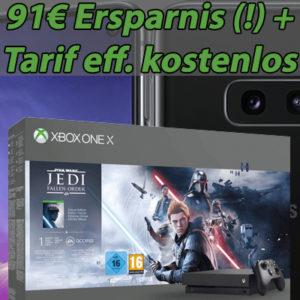 Eff. 90€ Ersparnis 📴 Samsung Galaxy S10e + Xbox One X + 6GB LTE Allnet-Flat