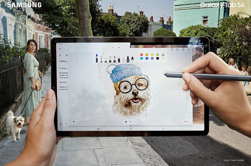 "Samsung Galaxy Tab S6 - 10.5"" Tablet mit LTE, 8GB RAM & 256GB"