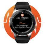 Samsung Galaxy Watch (42mm) mit WLAN, Bluetooth, MP3-Player, usw.