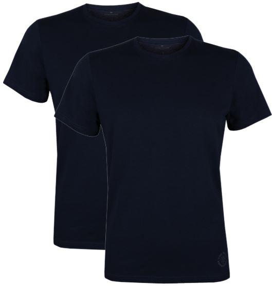 TomTailorHerrenO NeckT Shirt 2erPack