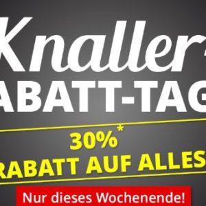 30% Sofort-Rabatt auf Alles, z.B. 5x Otto Kern T-Shirts für 28€