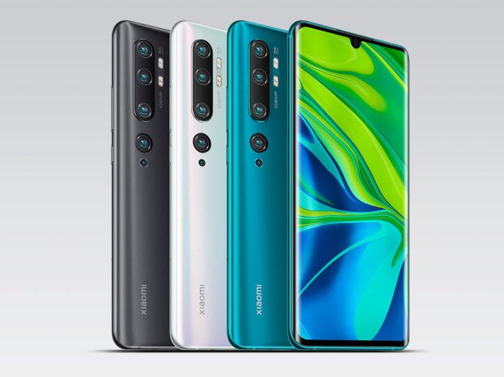 Xiaomi Mi Note 10 Farben ws e1572949781872