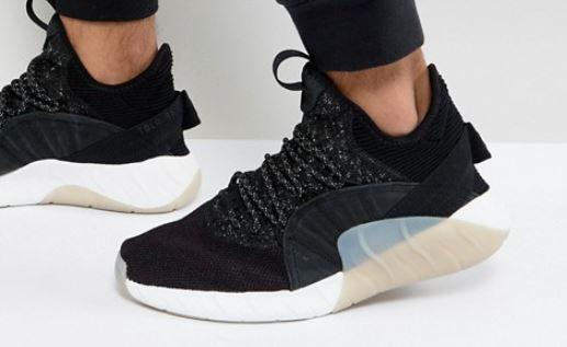 adidasOriginalsTubularRiseLederSneaker