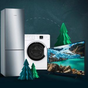 Black Buys Haushaltsgeräte Sale bei ao.de, z.B. Siemens Kühl-Gefrierkombination