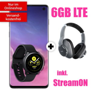 [KNALLER] Telekom Magenta S 📱💥 mit 6GB LTE + StreamON + Galaxy S10 + AKG N700 + Galaxy Watch
