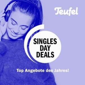👹 Teufel Singles Day SALE, z.B. Teufel Cinebar 11 (2.1 Soundbar)