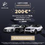 Endet heute 📣 200€ Cashback bei Vehiculum auf alle Leasing-Fahrzeuge