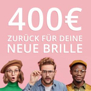 👓 *HAMMER* 400€ Rückerstattung auf Brillen + 1.000€ Rabatt für Augen lasern