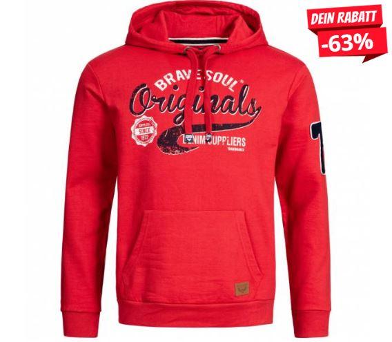 2020 01 20 12 18 51 BRAVE SOUL Denim Herren Hoodie Kapuzen Sweatshirt MSS 531DENIM RED   SportSpar