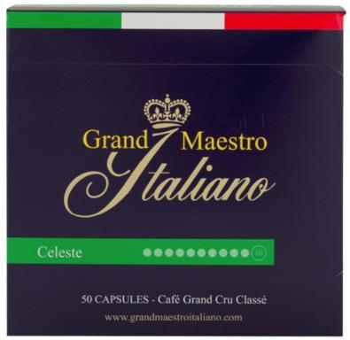 Grand Maestro Italiano   Nespresso Kapseln   Celeste