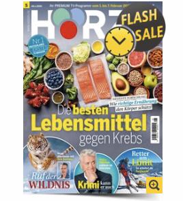 """Jahresabo """"Hörzu"""" für 119,80€ + bis zu 120€ Prämie"""