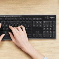 LOGITECH MK270 Tastatur Maus Set