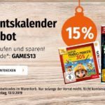Müller: 15% auf alle Switch & 3DS Spiele, z.B. Switch Ring Fit Adventure