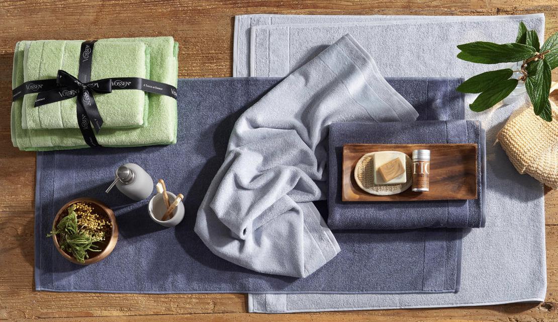 VOSSEN Handtuch Set in Grau 4 teilig online kaufen 2019 12 04 19 42
