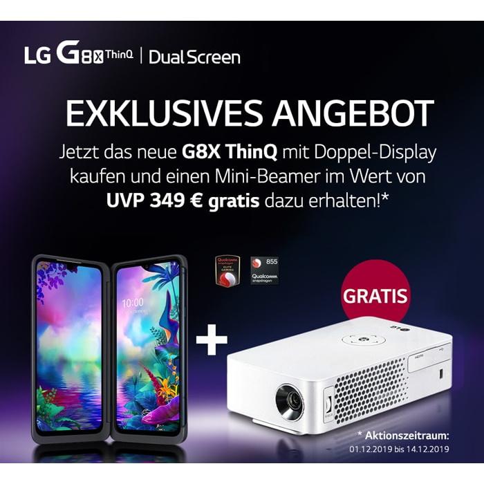 lg g8x thinq cinebeam aktion 2019 handy