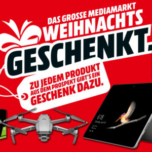 MediaMarkt Geschenke Flyer-Deals 🔥 z.B. versch. UHD Smart-TVs inkl. Soundbar