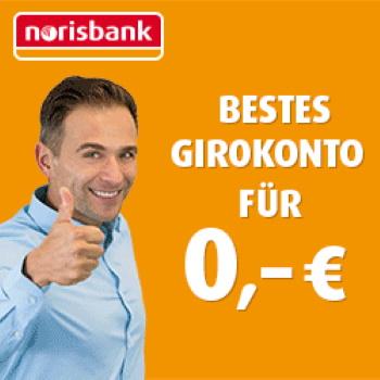 [LETZTE CHANCE] 💰 100€ für kostenloses norisbank Girokonto
