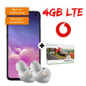 Bis zu 342€ Ersparnis 📴 Samsung Galaxy S10e + Xbox / AKG + 4GB LTE Allnet-Flat