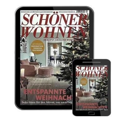 [Letzte Chance] Schöner Wohnen 🏠😊 E-Paper Jahresabo für 44€ + 45€ Prämie